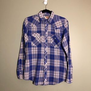 Young Bloods Authentic Western Pearl Snap Shirt